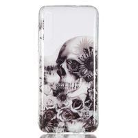 Patty gelový obal na Samsung Galaxy A70 - lebka