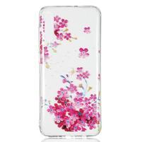 Patty gelový obal na Samsung Galaxy A70 - růžové květiny