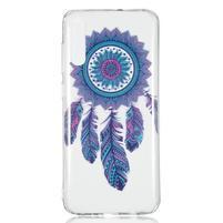 Patty gelový obal na Samsung Galaxy A70 - lapač snů pírko