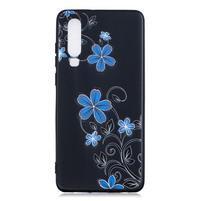 Patte silikonový kryt pro Huawei P30 - květy