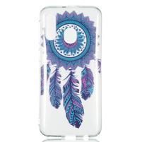 Printy silikonový obal na Samsung Galaxy A40 - lapač snů pírko