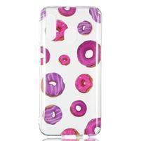 Printy silikonový obal na Samsung Galaxy A40 - donuty