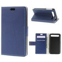 Peněženkové pouzdro na mobil BlackBerry Classic - modré