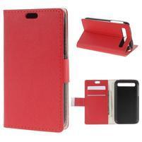 Peněženkové pouzdro na mobil BlackBerry Classic - červené