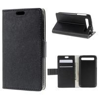 Peněženkové pouzdro na mobil BlackBerry Classic - černé