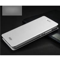 Vintage stylové pouzdro na mobil Honor 4C - bílé