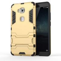 Outdoor odolný kryt na mobil Honor 5X - zlatý