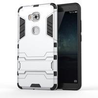 Outdoor odolný kryt na mobil Honor 5X - stříbrný