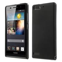 Matné gélové puzdro na Huawei Ascned G6 - čierne
