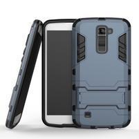 Odolný kryt na mobil LG K10 - tmavěmodrý