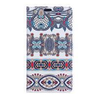 Style peněženkové pouzdro na LG K4 - pattern