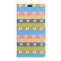 Style peněženkové pouzdro na LG K4 - barevné květiny