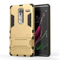 Outdoor odolný kryt na mobil LG Zero - zlatý