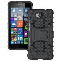 Outdoor odolný obal na mobil Microsoft Lumia 650 - černý