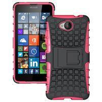 Outdoor odolný obal na mobil Microsoft Lumia 650 - rose