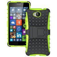 Outdoor odolný obal na mobil Microsoft Lumia 650 - zelený