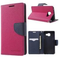 Goospery peněženkové pouzdro na Samsung Galaxy A3 (2016) - rose