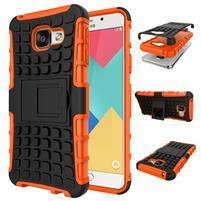 GT odolný obal na mobil Samsung Galaxy A3 (2016) - oranžový