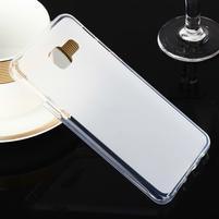 Matný gelový obal pro Samsung Galaxy A3 (2016) - bílý