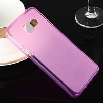 Matný gelový obal pro Samsung Galaxy A3 (2016) - růžový