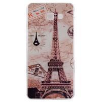 Ultratenký gelový obal na mobil Samsung Galaxy A3 (2016) - Eiffelova věž