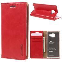 Mercury peněženkové pouzdro na Samsung Galaxy A3 (2016) - červené
