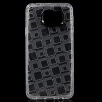 Square gelový obal na mobil Samsung Galaxy A3 (2016) - transparentní