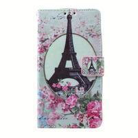 Peněženkové pouzdro na mobil Lenovo A536 - Eiffelova věž