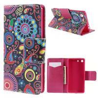 Crafty peněženkové pouzdro na Sony Xperia M5 - magic