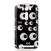 Softy gelový obal na mobil Asus Zenfone 2 Laser - očička