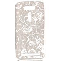 Retrostyle gelový obal na Asus Zenfone 2 Laser - henna