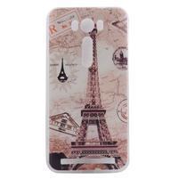Softy gelový obal na mobil Asus Zenfone 2 Laser - Eiffelova věž