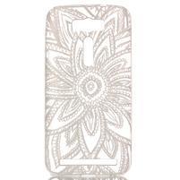 Retrostyle gelový obal na Asus Zenfone 2 Laser - krajková květina