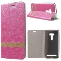 Lines pouzdro na mobil Asus Zenfone Selfie ZD551KL - rose