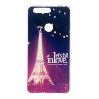 Emotive gelový obal na mobil Honor 8 - Eiffelova věž