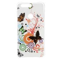 Emotive gelový obal na mobil Honor 8 - motýlci
