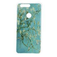 Emotive gelový obal na mobil Honor 8 - kvetoucí strom