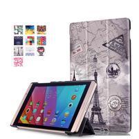 Třípolohové pouzdro na tablet Huawei MediaPad M2 8.0 - Eiffelova věž