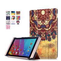 Třípolohové pouzdro na tablet Huawei MediaPad M2 8.0 - henna