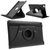 Otočné polohovatelné pouzdro na Huawei MediaPad M2 - černé