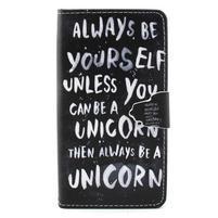 Emotive pouzdro na mobil Huawei P8 Lite - unicorn