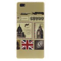 Flexi gelový obal na mobil Huawei P8 Lite - Velká Británie