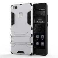 Odolný obal na mobil Huawei P9 Lite - stříbrný