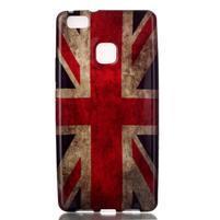 Emotive gelový obal na mobil Huawei P9 Lite - UK vlajka