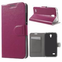 Horse peněženkové pouzdro na mobil Huawei Y5 a Y560 - rose