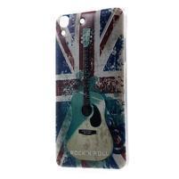Softy gelový obal na mobil Huawei Y6 - UK vlajka