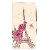 Knížkové pouzdro na mobil Huawei Y6 Pro - Eiffelova věž