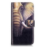 Knížkové pouzdro na mobil Huawei Y6 Pro - slon