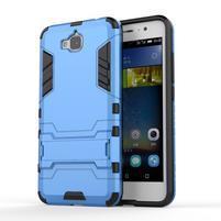 Outdoor odolný obal na mobil Huawei Y6 Pro - modrý