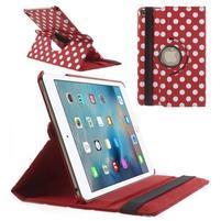 Cyrc otočné pouzdro na iPad mini 4 - červené